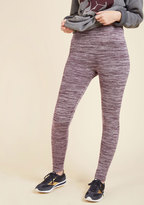 Heed Your Warming Fleece-Lined Leggings in Lilac in S/M