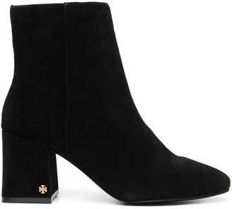 Tory Burch Logo-Detail Ankle Boots