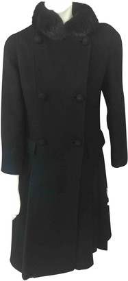 Fendi Black Cashmere Coat for Women