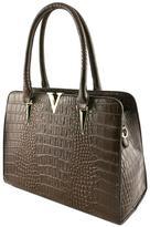 Nadya's Closet Croc Accent Bag