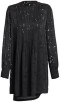 Rag & Bone Rubie Burnout Floral Mini Dress