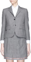 Thom Browne Wool cropped classic blazer