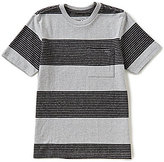 O'Neill Big Boys 8-20 Watson Striped Crew Neck Short-Sleeve Pocket Tee