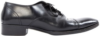 Tom Ford Black Leather Lace ups