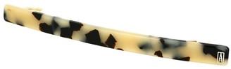 Alexandre de Paris Hair Slide Classique White Black Grey 10Cm