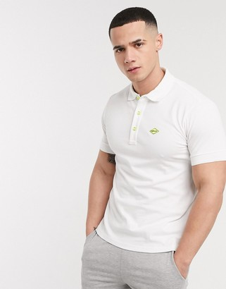 Replay polo shirt in white