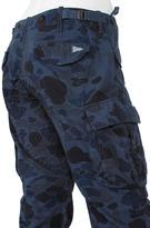 Michael Bastian Blue Camo Skinny Cargo Pant - by GANT