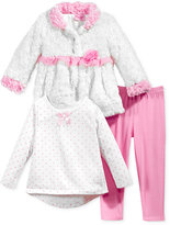 Nannette 3-Pc. Jacket, T-Shirt & Leggings Set, Toddler Girls (2T-4T) & Little Girls (2-6X)