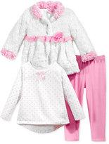 Nannette 3-Pc. Jacket, T-Shirt & Leggings Set, Toddler & Little Girls (2T-6X)