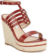 Diane von Furstenberg Gabby Espadrilles Platform Wedge Sandal