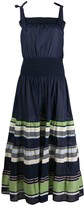 Tory Burch Paneled Cinched Dress