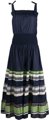 Tory Burch Paneled Cinched Dress