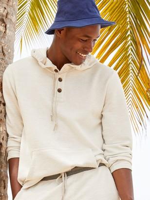 Old Navy Baja Henley Pullover Hoodie for Men
