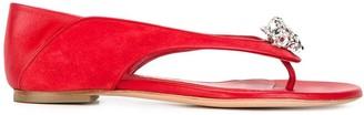 Alexander McQueen King And Queen Skull Sandals