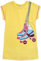Little Marc Jacobs Rollerblades Printed Sweatshirt Dress