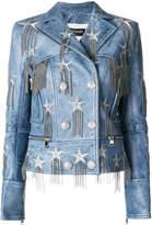 Balmain chain-embellished jacket
