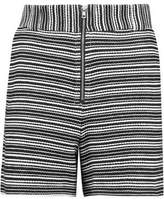 See by Chloe Striped Cotton-Blend Shorts