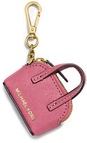 Michael Kors Cindy Saffiano Leather Coin Purse Key Chain