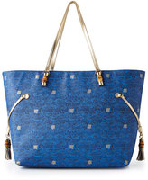 Lilly Pulitzer Bay Blue Upscale Mizner Tote