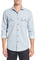 Rodd & Gunn Men's 'Thornlea' Sports Fit Chambray Sport Shirt