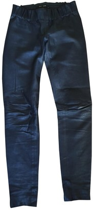 Jay Ahr Black Leather Trousers
