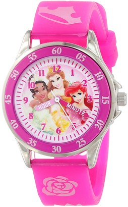 Disney Kids' PN1051 Princess Watch with Pink Band