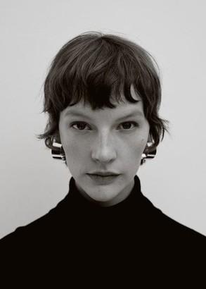 MANGO Thick hoop earrings gold - One size - Women