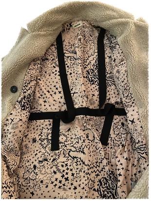 Zadig & Voltaire Beige Faux fur Coat for Women