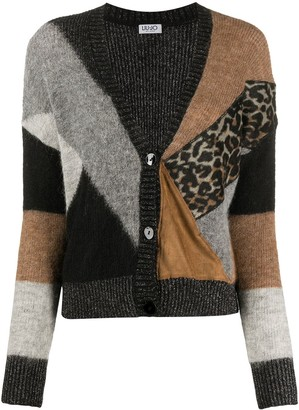 Liu Jo Colour Block Cardigan