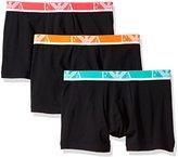 Emporio Armani Men's Stretch Cotton Eagle Logo Boxer Brief, 3-Pack