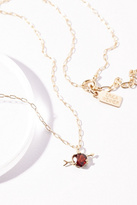 Erica Weiner Womens 10K CUPIDS HEART NECKLACE