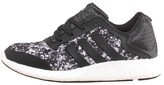 adidas Womens Pure Boost Lightweight Neutral Running Shoes Core Black/Core Black/White