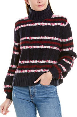 A.L.C. Zaira Wool & Silk-Blend Sweater