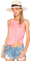 Chaser Open Triangle Back Flounce Tank