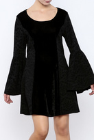 Aryeh Long Tulip Velvet Dress