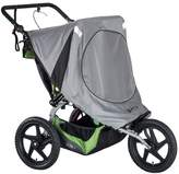 BOB Strollers 2016 Fixed Wheel Duallie Stroller Sun Shield