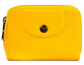 Longchamp Le Pliage Leather Card Case