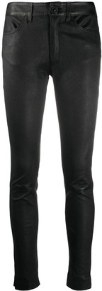 Dondup Textured Skinny-Fit Trousers