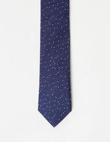 Calvin Klein Spot Silk Tie