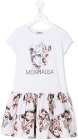 MonnaLisa printed dress - kids - Cotton - 2 yrs