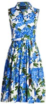 Samantha Sung Claire Sleeveless Fit-&-Flare Dress