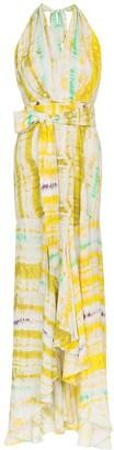 Silvia Tcherassi Ardell tie-dye maxi dress