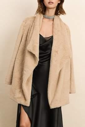 Dress Forum Faux Fur Coat