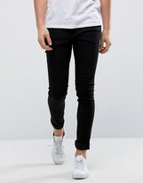Only & Sons Extreme Skinny Black Jeans