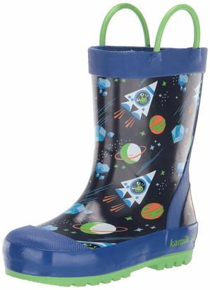 Kamik Boys' Galaxy Rain Boot