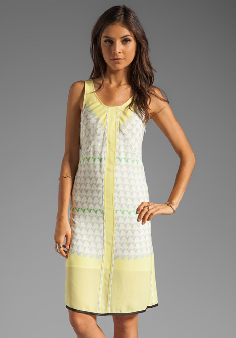 Marc by Marc Jacobs Resort Burnside Print Dress