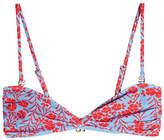 Diane von Furstenberg Twist Bandeau Bikini Top