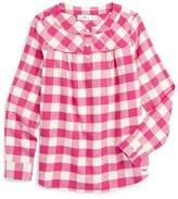 Vineyard Vines Girl's Buffalo Check Flannel Shirt