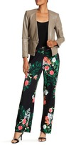 Vince Camuto Havana Tropical Pull-On Pants