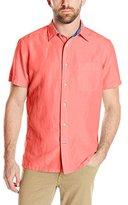 Nautica Men's Short Sleeve Solid Shirt